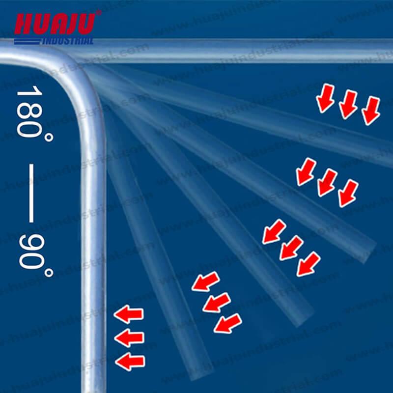 12 Ton, 16 Ton pipe tube benders hb-12 & hb-16