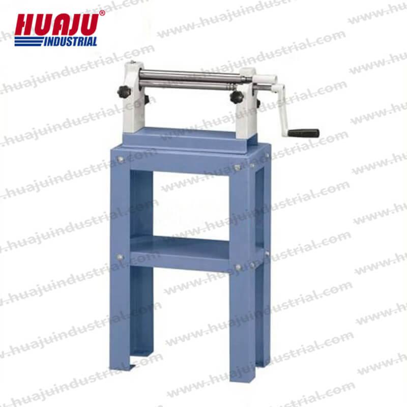 12in portable benchtop slip roller W01-0.8×305
