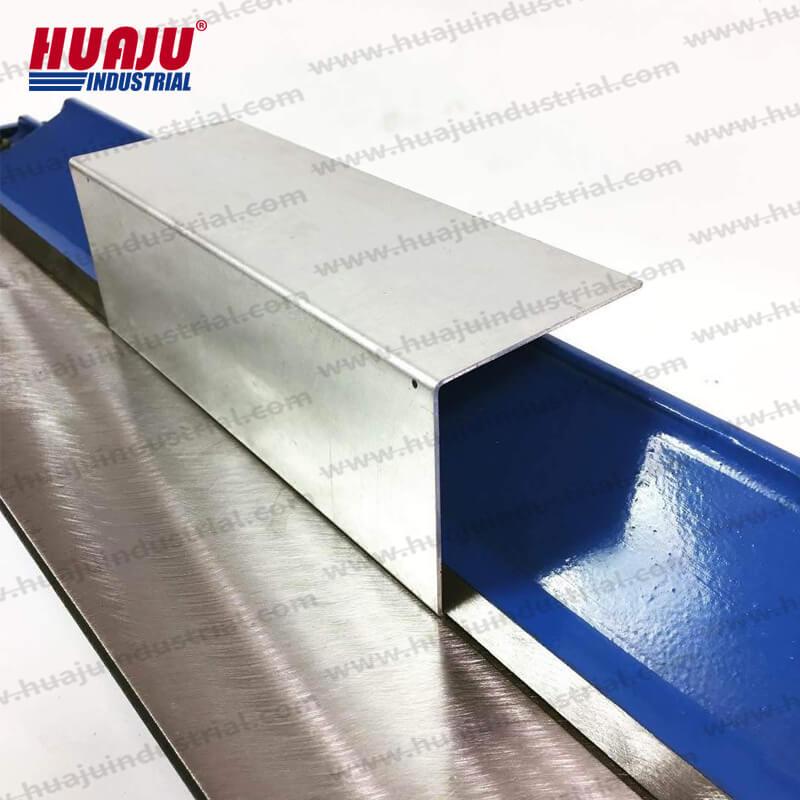 40-inch benchtop bending brake tool W1.2×1000
