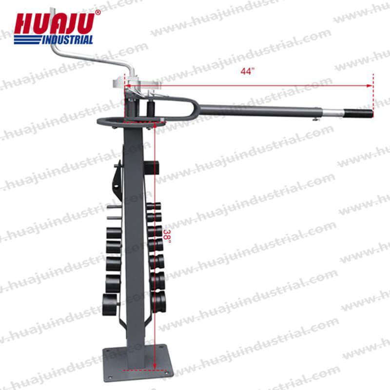 Floor-type metal bender UMB-30