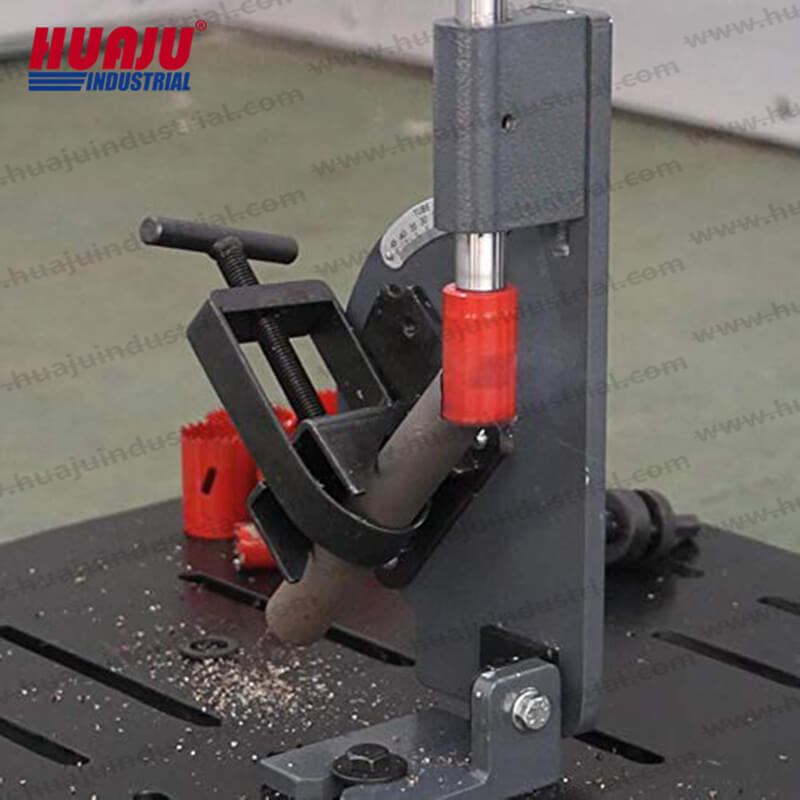 PN-1/2A drill press tube pipe notcher