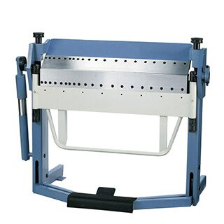 dual sided box pan brake foot clamp 40in, 50in, 60in