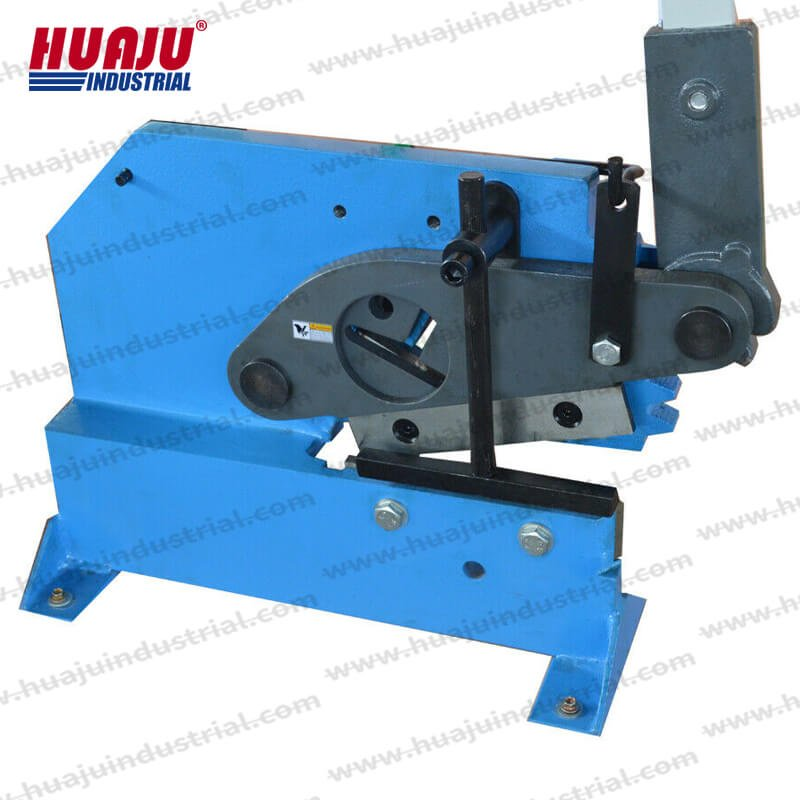 manual bar section ironworker shear pbs-8