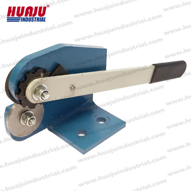 manual benchtop rotary shear mms-1