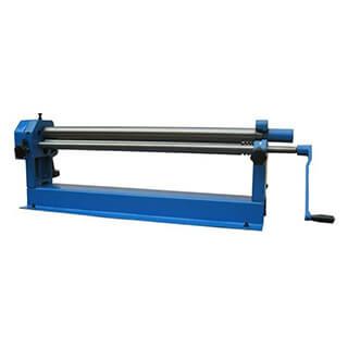 manual benchtop slip roller w01-0.8×915, w01-0.8×1000, w01-1.5×1300