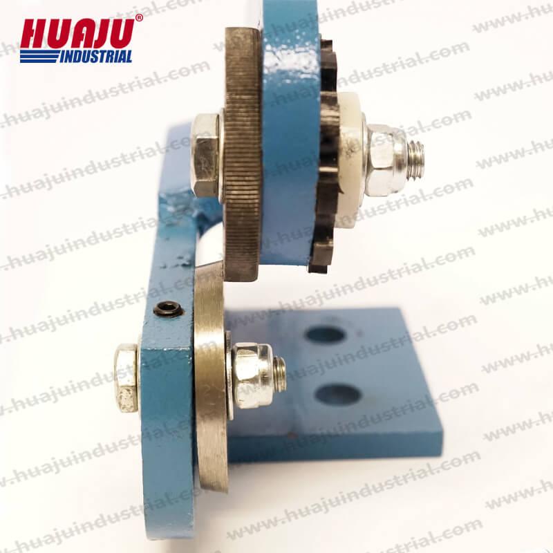 manual desktop rotary shear mms-1