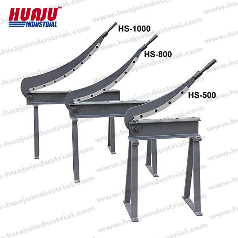 manual guillotine shears hs-500, hs-800, hs-1000, hs-1300