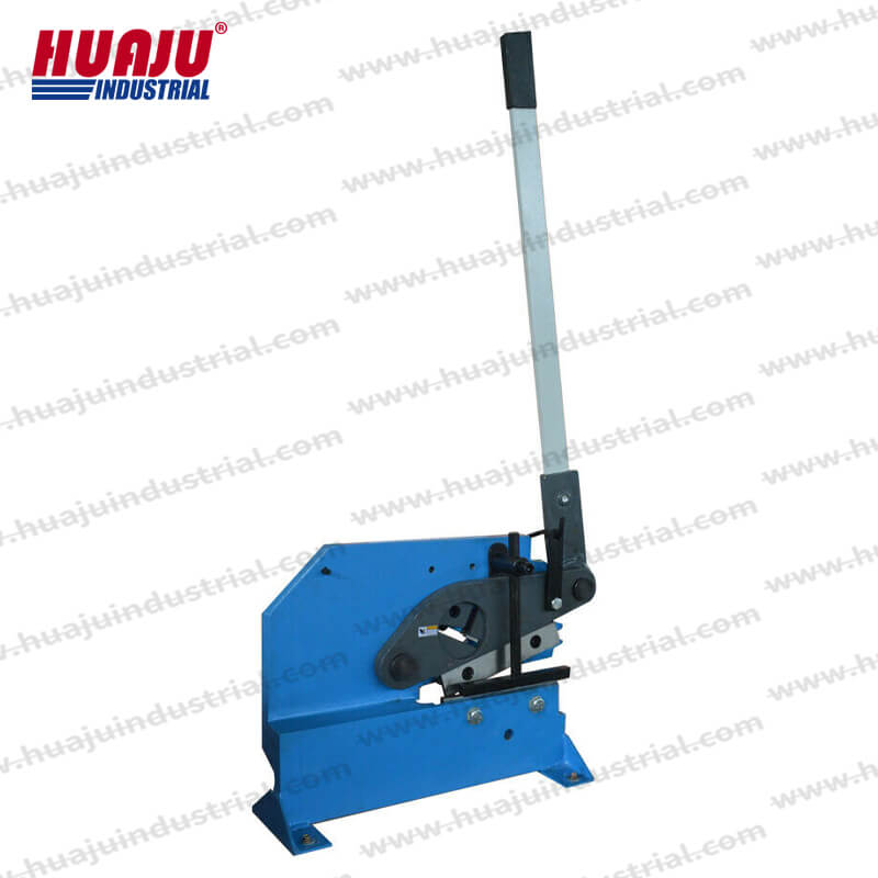 manual ironworker bar section shear pbs-8