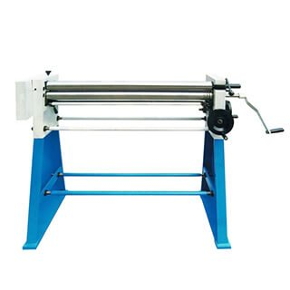 manual slip roller with stand 610mm, 1000mm, 1250mm