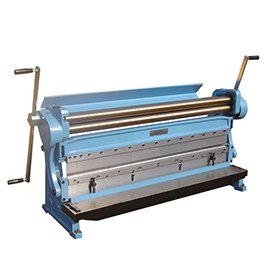 Sheet Metalworking rolling, bending, cuting machine